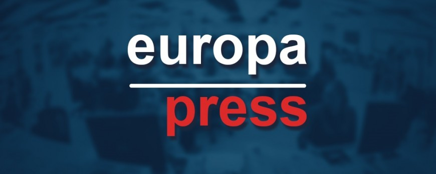 Nota de prensa: europapress